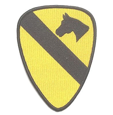 Wwii Us Army 1St Calvary Shoulder Horse Embroidery Patch Badge-1079