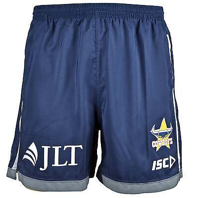 ISC North Queensland Cowboys Training Rugby Shorts - Navy