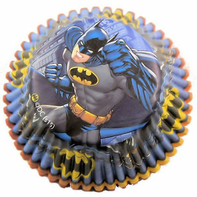 Batman  Cup Cake/Muffin Cases (50 cases)