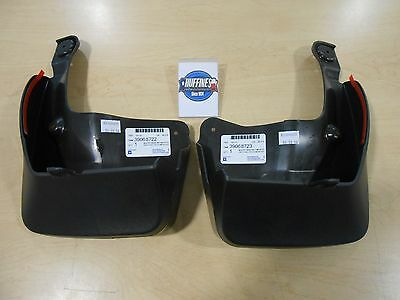 New OEM Rear Mud Splash Guard Set (2) - 2017-2018 Cruze Hatchback (39068721)