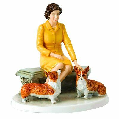 Royal Doulton Her Majesty At Home Figurine, 6.3""