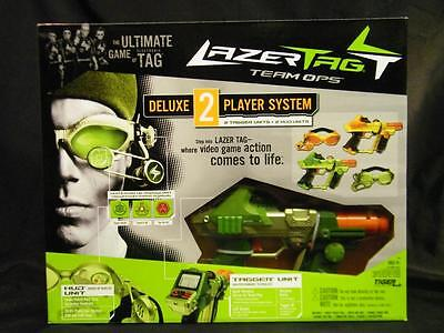 New Hasbro Lazer Tag Team Ops Deluxe 2-Player System