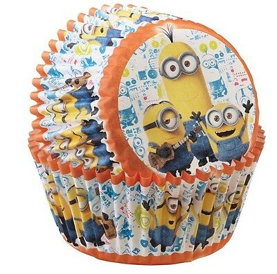 Minions Party Cupcake cases - 50 Pack