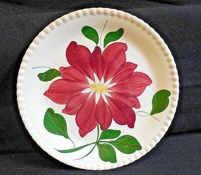 Blue Ridge Pottery  Luncheon Plate   DAHLIA   in Candlewick