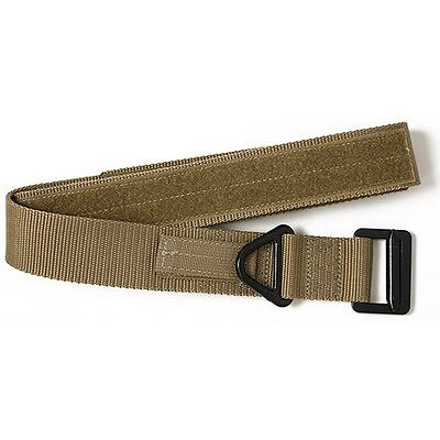 """Red Rock Outdoor Gear 2044COY Riggers Belt Coyote Forged Harness Adjust to 46"""""""