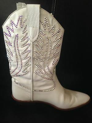 Handmade Stoned Wedding Cowboy Boots Custom Orders