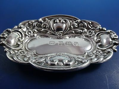 Antique English Sterling Silver Nut Dish by B & C (#1241)