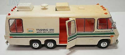 1980 Hess Toy Training Van Gasoline Station Personnel (Yellowed)