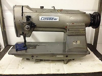 Consew 255 Walking Foot Leather/upholstery Big Bobbin  Industrial Sewing Machine