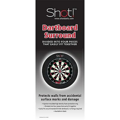 Shot Official Australian Competition Dartboard Surround with FREE SHIPPING!!!