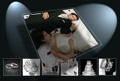 Digital Digital Photo Templates/Backdrops Photoshop Wedding Collection Complete!
