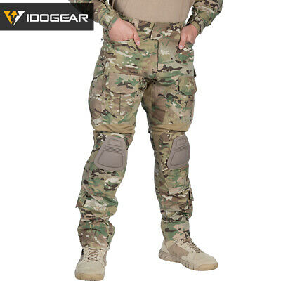 Emerson G3 Combat Pants w/ Knee Pads Airsoft Tactical Trousers MultiCam EM8527