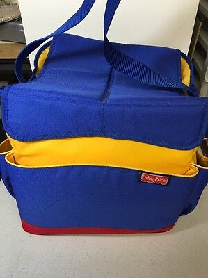 Fisher Price TRAVEL TOY TOTE Storage Case Bag Purse Luggage