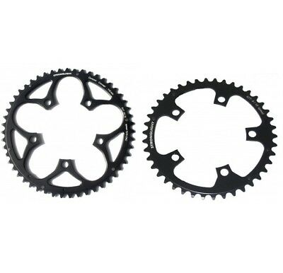 STRONGLIGHT ZIRCAL 7075 BLACK 110BCD mm SHIMANO COMPACT CHAINRING   53T