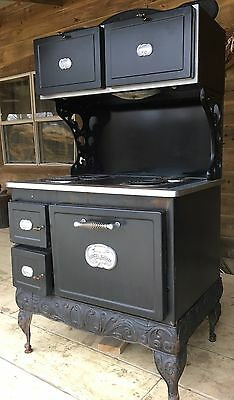 Vintage Kenmore Country Kitchen Electric Stove Antique Cook Stove