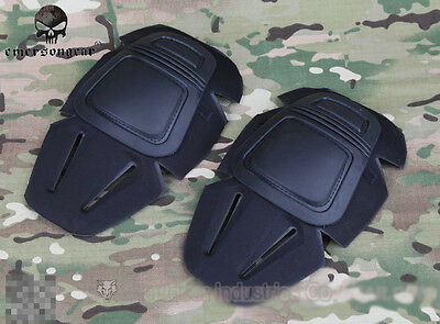 EMERSON Protective Combat Knee Pads For G3 BDU Tactical Army Duty Black EM7066A