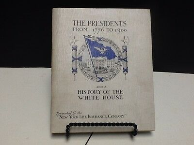 THE PRESIDENTS from 1776 1900