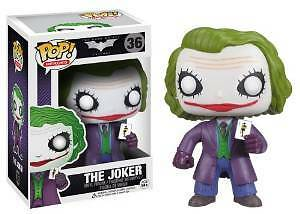 Funko POP Heroes: Dark Knight Movie The Joker Vinyl Figure 3372 FunKo