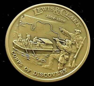 Lewis and Clark Sacagawea Commemorative Coin Corps of Discovery Made In USA