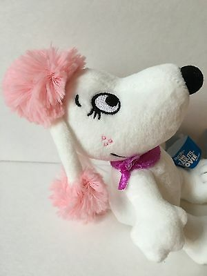 THE PEANUTS MOVIE FIFI Snoopy girlfriend Plush Bean Doll Japan Limited NEW