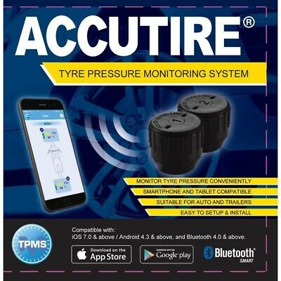 Accutire Tyre Pressure Bluetooth Monitoring System Pack of 2 MS-4388GB2