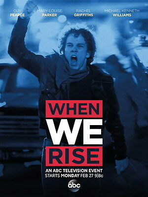"""001 WHEN WE RISE - Historical USA TV Show 14""""x18"""" Poster"""