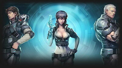 "023 Ghost In The Shell - Fight Riot Police Anime Hot Movie 24""x14"" Poster"