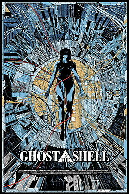 "035 Ghost In The Shell - Fight Riot Police Anime Hot Movie 14""x21"" Poster"