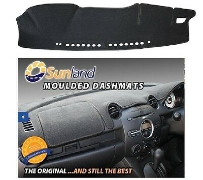 Dashmat Moulded Black For Toyota Hilux GN12, UN12, UN13 8/15-On Dash Mat Airbag