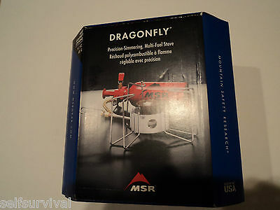 MSR Dragonfly Multifuel Stove   New in a Box