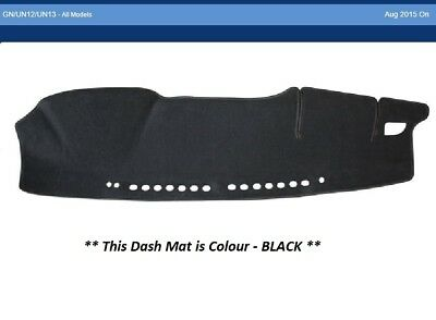 Dash Mat Moulded Black For Toyota Hilux GN12, UN12, UN13 8/15-On Dashmat Airbag