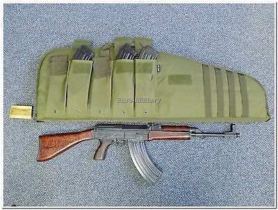 VZ58,SA58 Transport Case Bag w/ Molle - 5 Mags Pockets - Olive - Brand New