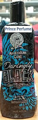 AUSTRALIAN GOLD DARINGLY BLACK 25X FEARLESSY DARK BRONZING LOTION - 250 ml