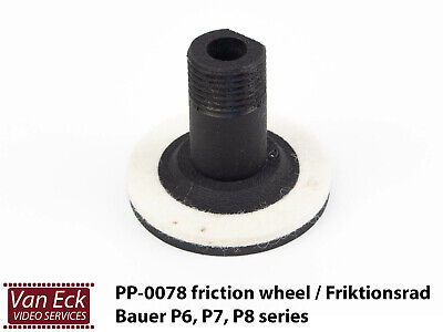 Bauer P6,P7,P8 - Friction wheel / Friktionsrad - PP-0078 (new)