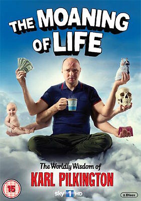 The Moaning Of Life - Series 1 - Complete (DVD, 2013, 2-Disc Set) FREE SHIPPING