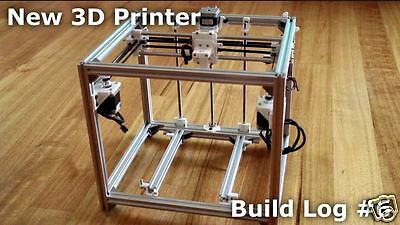 HyperCube 3D Printer T-slot 2020 extrusion frame 3D printer - T-slot box only