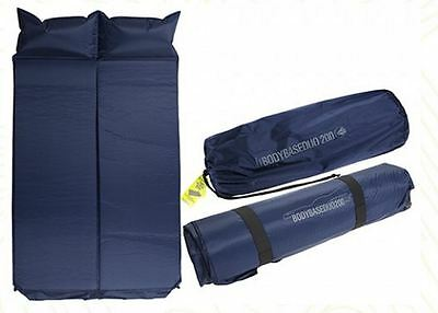 Body Base Duo - Double Self  Inflating Mattress & Pillow - Summit