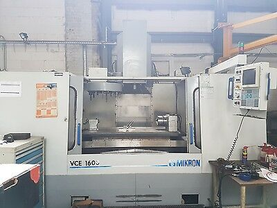 MIKRON HAAS VCE 1600 mit 4.ter Achse