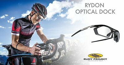 Rudy Project Rydon Black Matt Montatura Occhiale Da Vista Frame + Optical Dock
