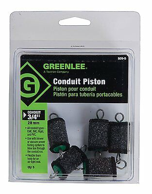 "Greenlee 609-5 Piston For 3/4"" Conduit, 5 Pack"