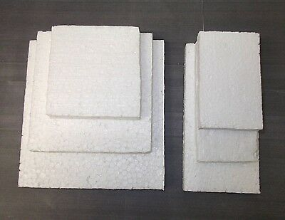 White polystyrene blocks. Packing. Packaging. Shipping. *Top Quality!