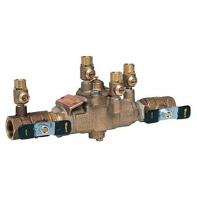 "Watts 3/4"" 009M3 Backflow Preventer Reduced Pressure Zone Assembly RPZ 3/4 63030"