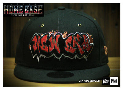 Limited Edition New Era 9FIFTY Graffiti Font Taiwan Release Only