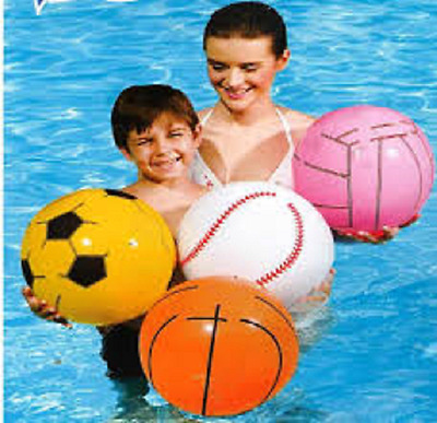 Bestway Inflatable 41 cm Beach Ball (choice of 4)