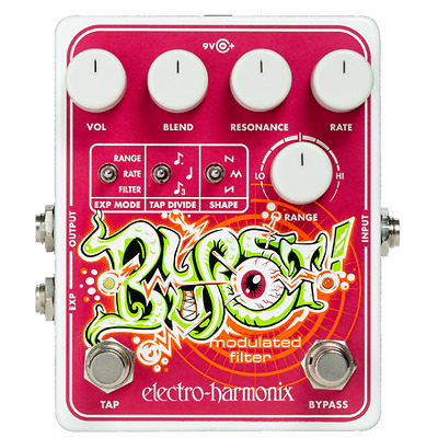 Electro Harmonix Blurst Modulated Filter Guitar / Bass Effects Pedal