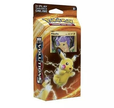 Pokemon XY Evolutions Pikachu Power Theme Deck New FREE EXPRESS POST SAME DAY