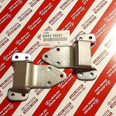 OEM Toyota Land Cruiser 40 Series BJ40 FJ40 Ambulance Door Lower Hinges Set of 2
