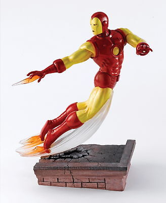"""IRON MAN"" Action Figur - B1590 - MARVEL Enesco limitierte Superhelden Skulptur"