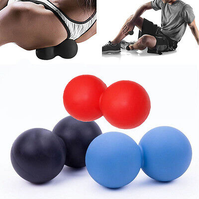 Double Ball Lacrosse Ball Mobility Myofascial Trigger Point Release Massage Ball