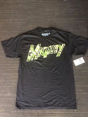 Mighty healthy skate black t shirt 705